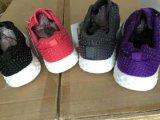 Мода Шнуровке работает спорта кроссовок для женщин. Дамы/женщин Sneaker Pimps обувь спортивной обуви при работающем двигателе