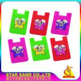 卸売業のカードのシリコーンのホールダー、カスタマイズされた印刷のクレジットカードの袖