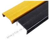 Perfil de plástico reforzado con fibra de acero de fibra de vidrio para materiales de construcción
