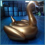 거대한 수영장 부유물 팽창식 백조 수영 부유물