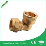 Montaggi d'ottone di compressione che coppia il tubo ed i montaggi del rame dell'accessorio per tubi