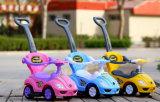 Banheira de plástico barato preço de venda de brinquedos para bebés Carro/Empurrar Carro/Torcer Carro com empurre a alavanca