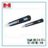 Assist сделанный в ноже Китая 18mm общего назначения, резце, одиночном ноже безопасности резца пластичной коробки лезвия