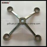 4 Оружия из нержавеющей стали стекла Spider фитинг, крестовина кронштейн (HR220A-4)