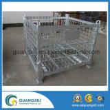 高品質の持ち上がるタイプのためのスタック可能ステンレス鋼の金網の容器