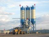 Hzs 35 centrales de malaxage concrètes pour la région froide de la Russie avec la couche de conservation de la chaleur