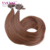 100%の人間の毛髪の釘の先端の毛の拡張