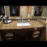 Meuble-lavabo en granit Giallo Veneziano Fiorito Tops
