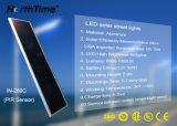방수 태양 에너지 LED 가로등을 비용을 부과하는 에너지 절약 햇빛