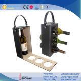 Новый стеллаж для выставки товаров вина вычуры конструкции (6486)