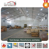 Broad Temporary Warehouse Structures Tent with Rolling Door for Storage and Work Shop