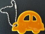 Отражательное Key Chain с Car Shape