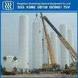 La certificación ASME cisterna de acero de tanque de almacenamiento de líquidos criogénicos