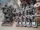 ANSI Wcb aço fundido da válvula da tampa de válvulas industriais