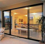 12mmの明確な緩和されたガラスのドア