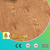 Ménage 12.3mm E0 en vinyle de gros bois d'Hickory sol stratifié en bois