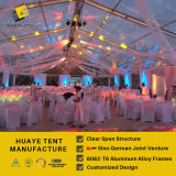 Huaye 300명의 사람들 (hy122b)를 위한 명확한 PVC 결혼식 천막