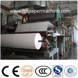 papel higiénico de papel de recicl do tecido do rolo enorme do tecido de 1880mm que faz a máquina