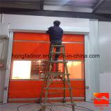 Пластичная промышленная автоматическая высокоскоростная дверь завальцовки (HF-K01)