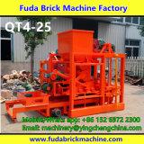 Taille moyenne Semi Automatique Béton Creux / Solide / Interlocking / Dallage Bloc faisant la machine