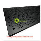 HDPE 건축 궤도 도로 매트/지상 보호 매트 HDPE/HDPE 임시 도로 매트