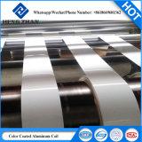 AC/PE/PVDF bobina de aluminio con recubrimiento de color para el Revestimiento de pared