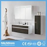 Mobília móvel grande de madeira moderna do hotel da cremalheira de toalha do gabinete do espelho (BF180M)