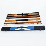 Handmade 1/2 patchwork de couleurs de différence de transmission 2 Compartiment Pool billard snooker Cue cas