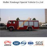 6ton midden-Lage Pomp 153 de Vrachtwagen Euro3 van Dongfeng van de Brand van het Schuim