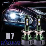 H7 Single Beam 4800lm LED 6chips Truck Head Light Lamp para KIA / Gmc / Ford / VW / Hyundai