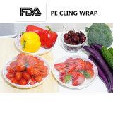 Dehnbares Eigenschaften-Nahrungsmittelgrad-Rollenverpackung PET haften Film an