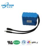 18650 nachladbare 12V 6ah Lithium-Ionenbatterie für elektrisches Hilfsmittel