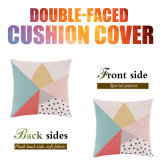 Quadratischer dekorativer Wohnzimmer-Kissen-Deckel für Sofa-Auto-Rückseite
