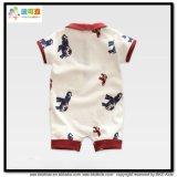 Gots Polo-Neck Baby Rompers du vêtement pour bébé