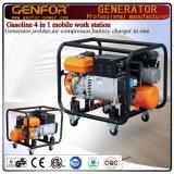 100% kupferner Schweißer, Generator, Luftverdichter und Ladegerät 4 in 1 Maschine
