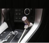 2.1AMP/1a deux ports USB Chargeur de voiture avec casque Bluetooth