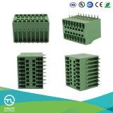 PA66 Blocs de terminaison en laiton en plastique MB1.5h / V3.81