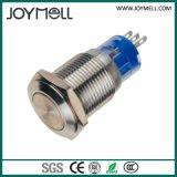 Bouton poussoir électrique en métal 1no de qualité de la CE