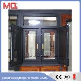 Finestra di vetro Tempered di alluminio della rottura termica di Guangzhou per la villa
