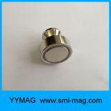 De uitstekende kwaliteit Geborstelde Zilveren Magnetische Speld van het Metaal