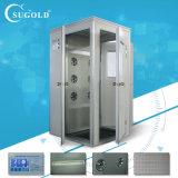 角の空気シャワー単一の人単一の側面のSugold