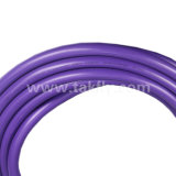 24 cavi ottici dell'interno della fibra di millimetro Om4 delle fibre