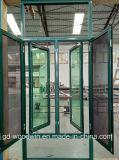 Foshan 고품질 열 틈 비행거리 스크린을%s 가진 알루미늄 여닫이 창 Windows