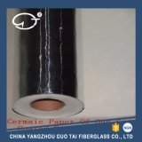 Papel de fibra de cerámica para aislamiento térmico
