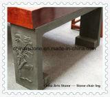 Chaise en marbre en pierre et mobilier de bureau pour bar à la maison et au café
