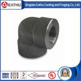 ANSI B16.11 Soldadura de soquete de aço forjado Cotovelo de tubulação de 90 graus