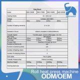 Macchina della pressa di scambio di calore di Poller del rifornimento della fabbrica per la tessile del tessuto