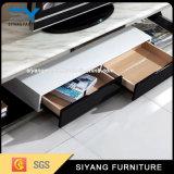 Module blanc du modèle neuf moderne TV avec des tiroirs