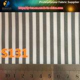 Зеленой дешевой покрашенная пряжей ткань нашивки для подкладки куртки (S131.136)
