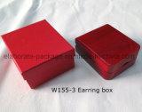 De houten Doos van de Verpakking van de Gift van de Halsband van de Tegenhanger van Juwelen